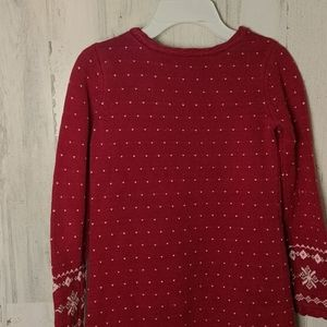 Gymboree Dresses - GYMBOREE Red Winter Holiday Sweater Dress 10